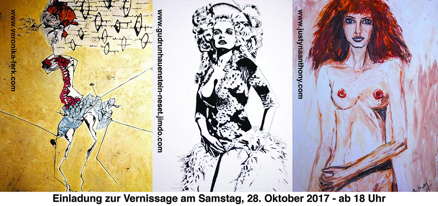 """Next exhibition: """"Frauen im Mittelpunkt"""""""